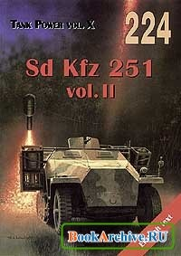 Книга Tank Power vol.X. Sd Kfz 251 vol.II (Militaria 224)