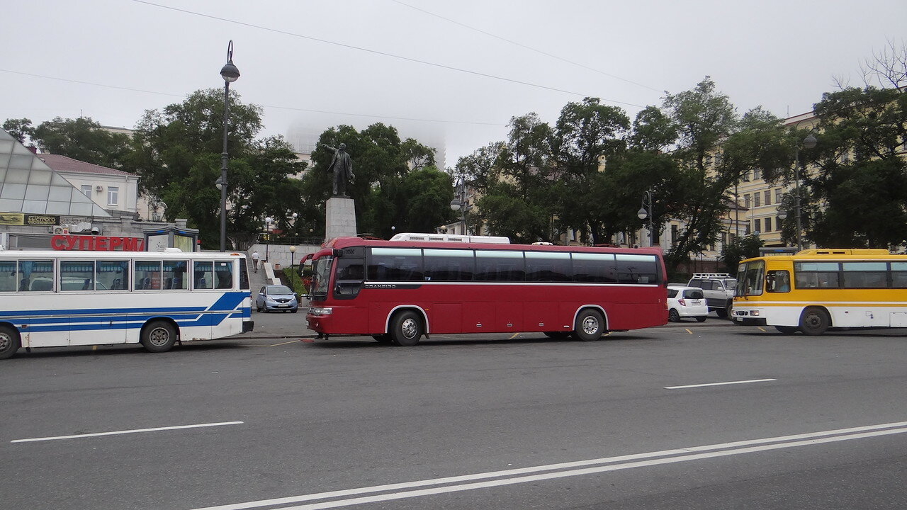 Владивосток, Вокзал,