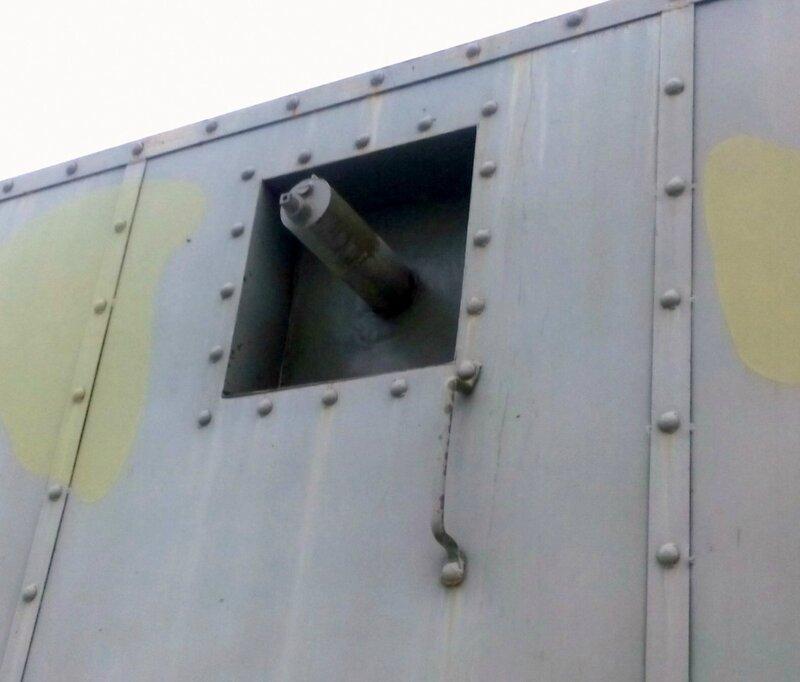 Максим - вооружение лёгкой бронеплощадки