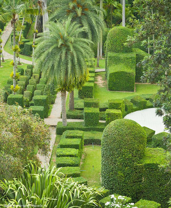 8. Европейский сад в ботаническом парке Нонг Нуч