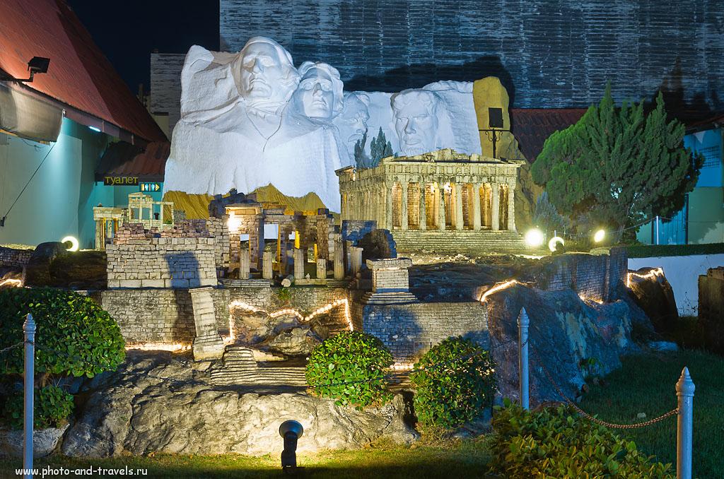 """26. Афины в парке """"Мини Сиам"""" в Паттайе. Советы туристам, собирающимся на отдых в Таиланд."""