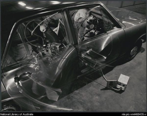 Car Undergoing The Dorrd Slam Test 1970.jpg
