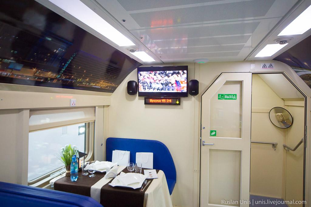Новый двухэтажный поезд РЖД