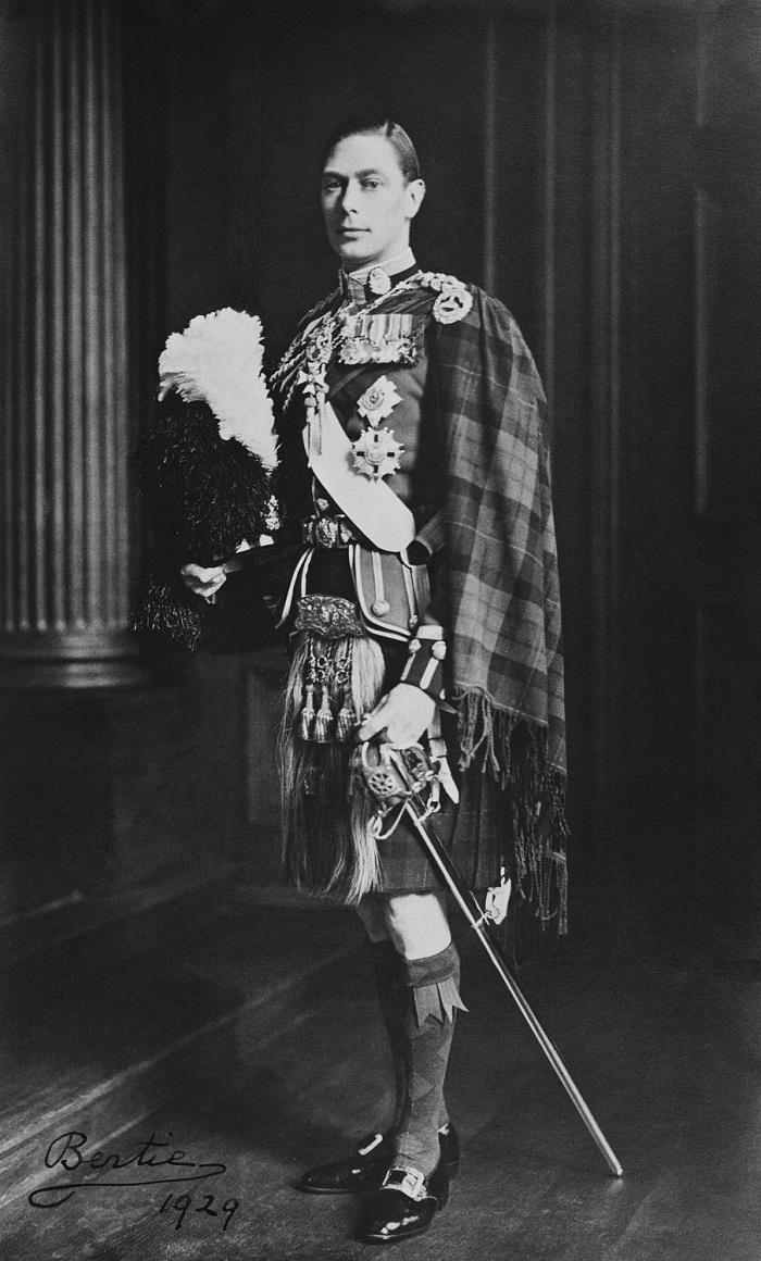 Король Георг VI (1895-1952), когда герцог Йоркский
