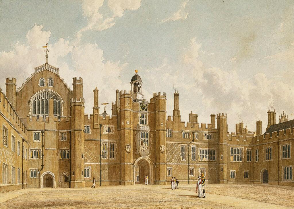 Дворец Хэмптон-Корт William Westall (1781-1850)