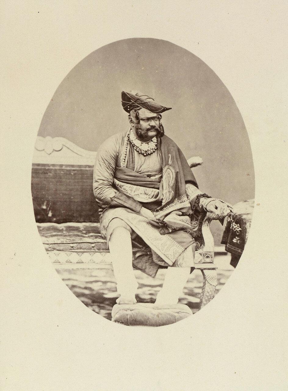 82. Джаяджирао Скиндия (1835-86), махараджа Гвалиора