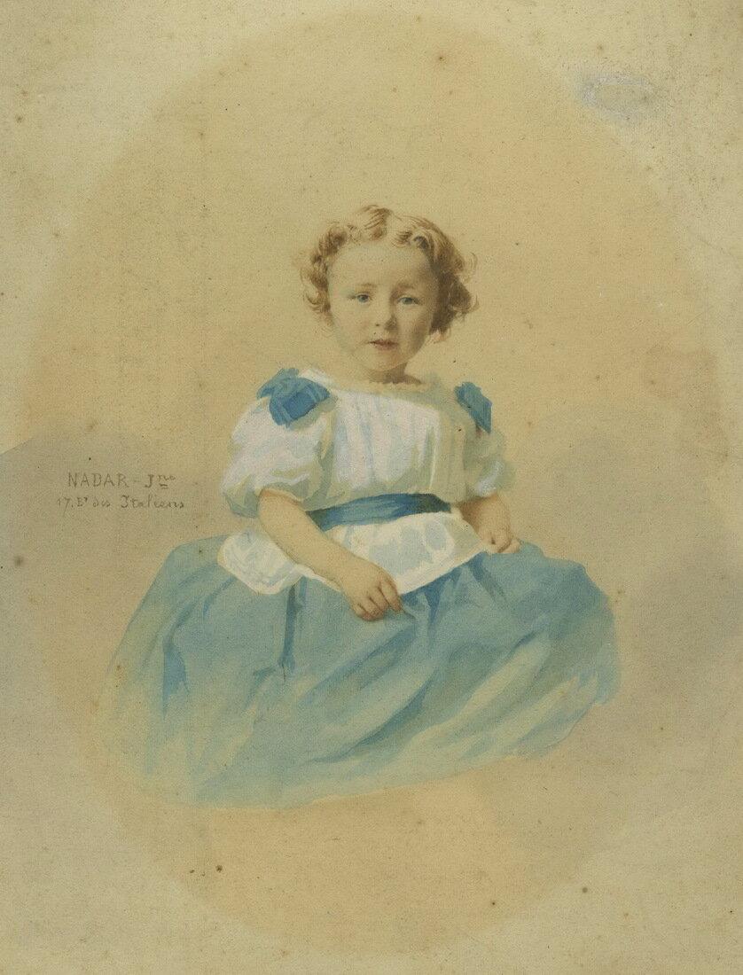 1855. Портрет девочки