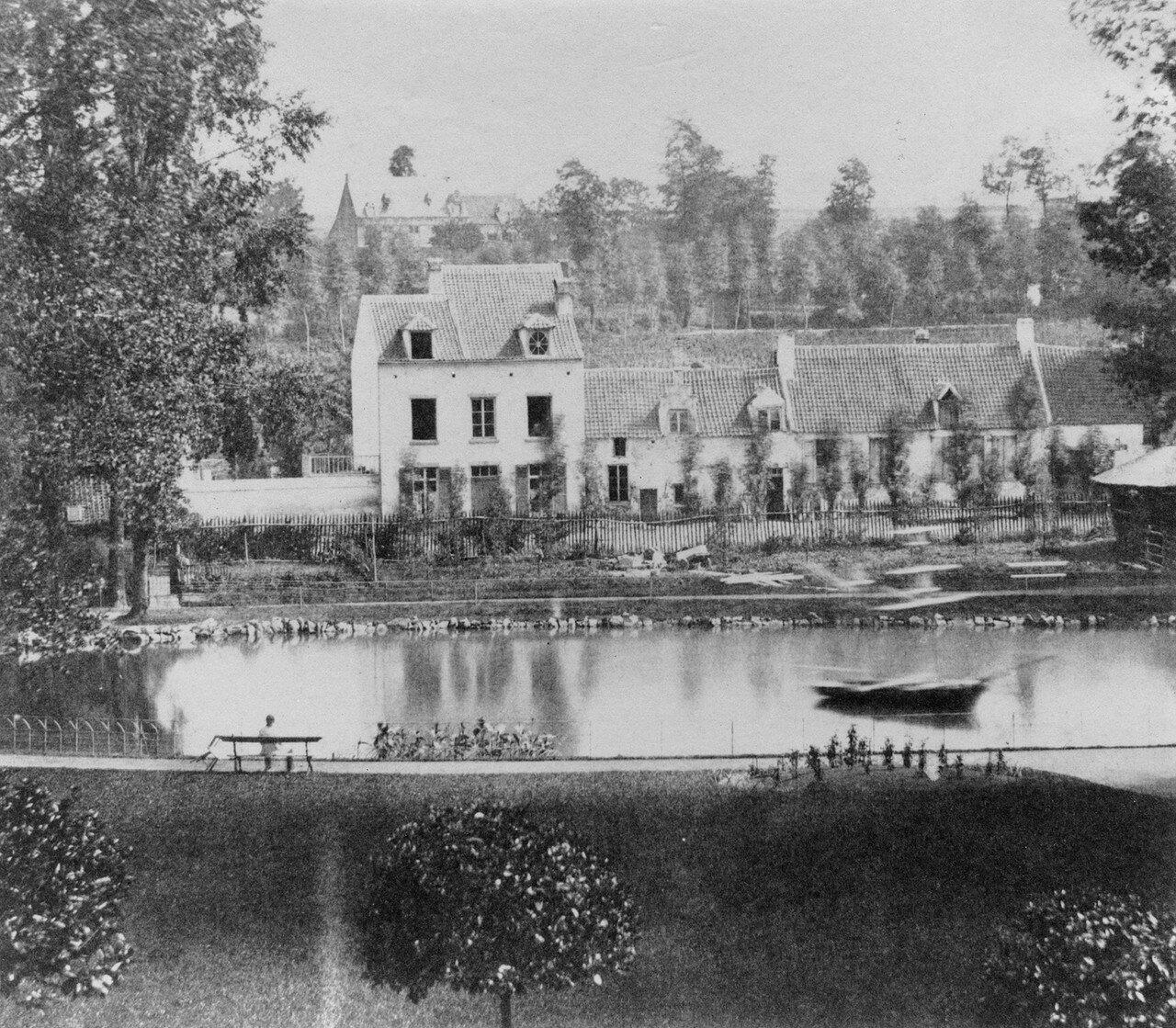 1854. Брюссель. Зоологический сад