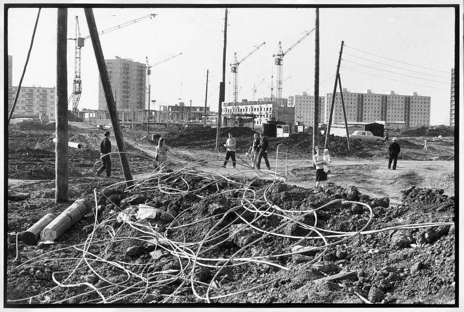 1972.  Набережные Челны. Жилые дома для работников и руководства огромного тракторного завода