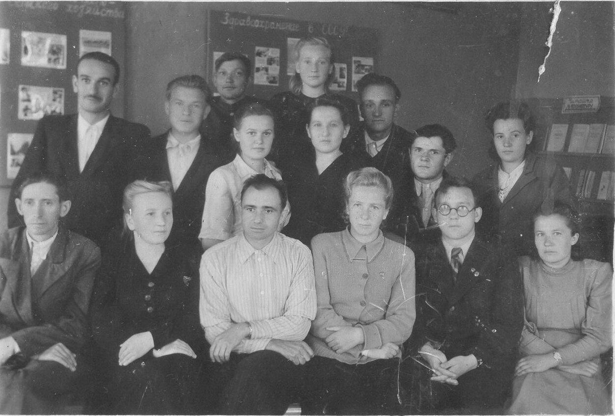 1950-е. Райком комсомола