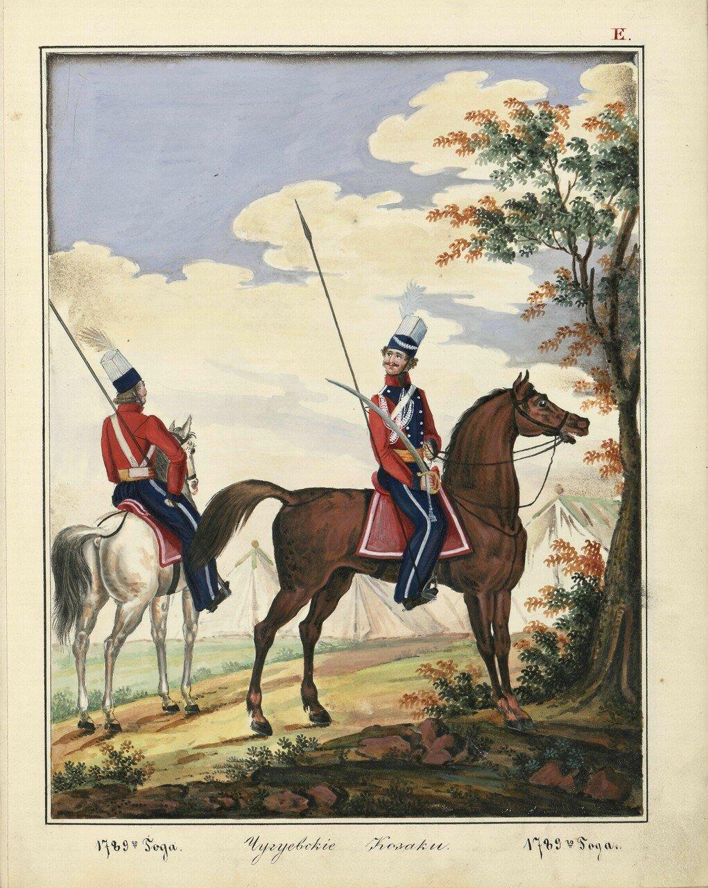Чугуевские казаки, 1789