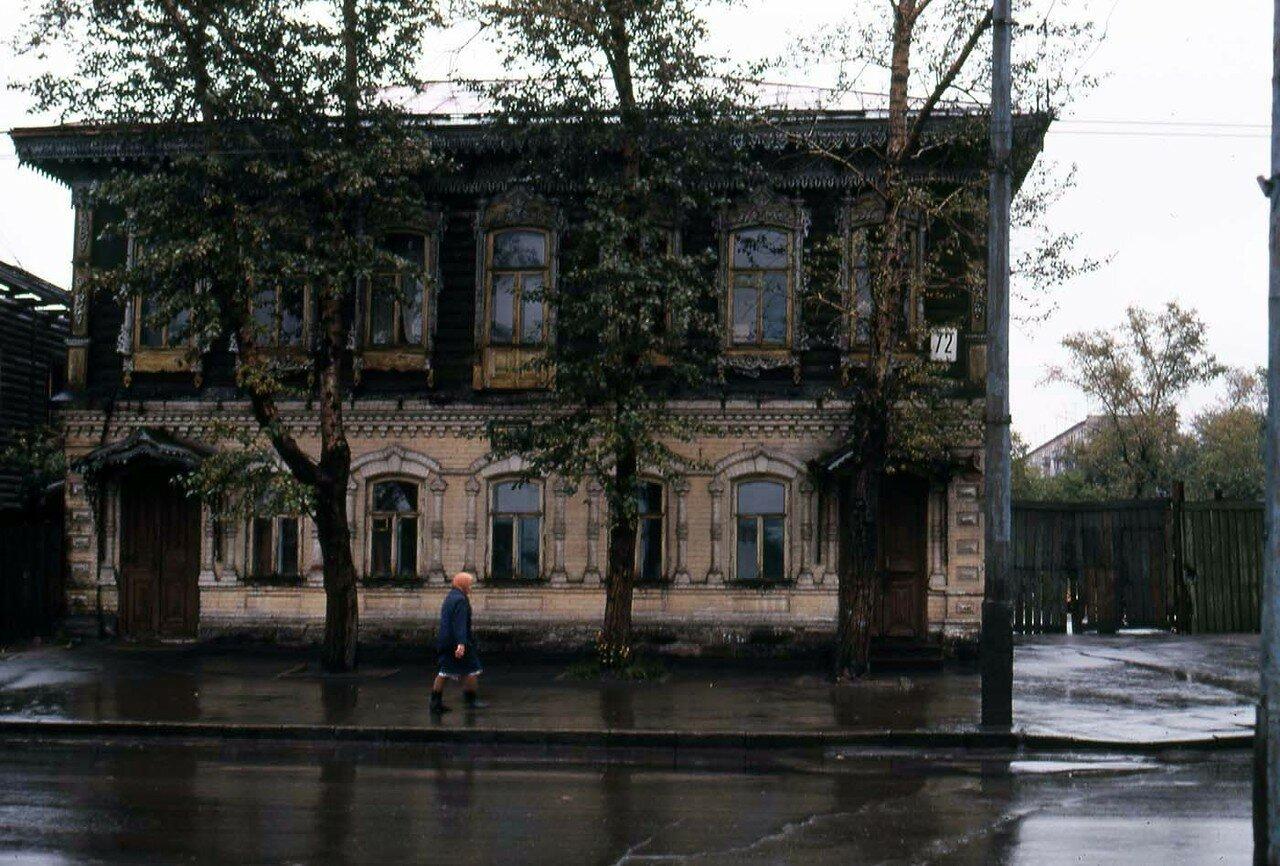 27. Улица Тимирязева. Очень интересный старый дом