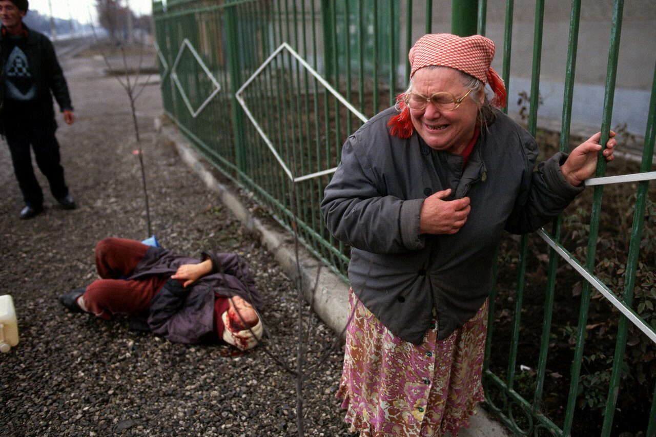 1995. Грозный
