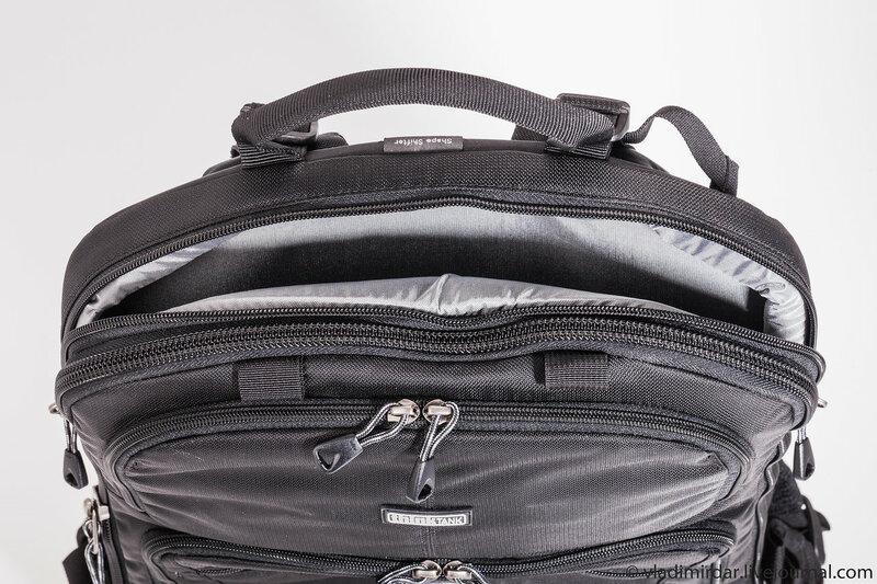 Отделение для ноутбука фото рюкзака Think Tank Photo Shape Shifter