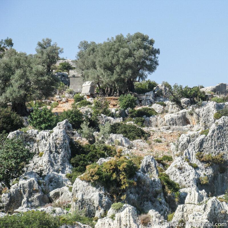Ликийский некрополь Симены