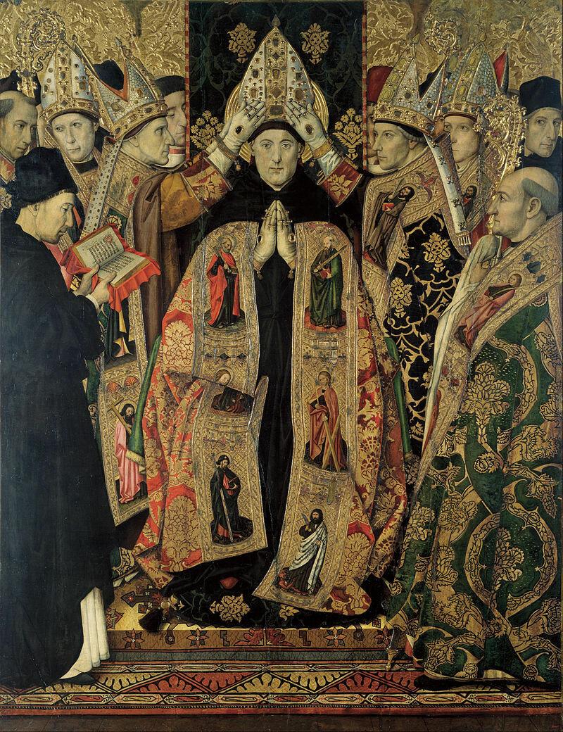 800px-Jaume_Huguet_-_Consecration_of_Saint_Augustine_-_Google_Art_Project63-75.jpg