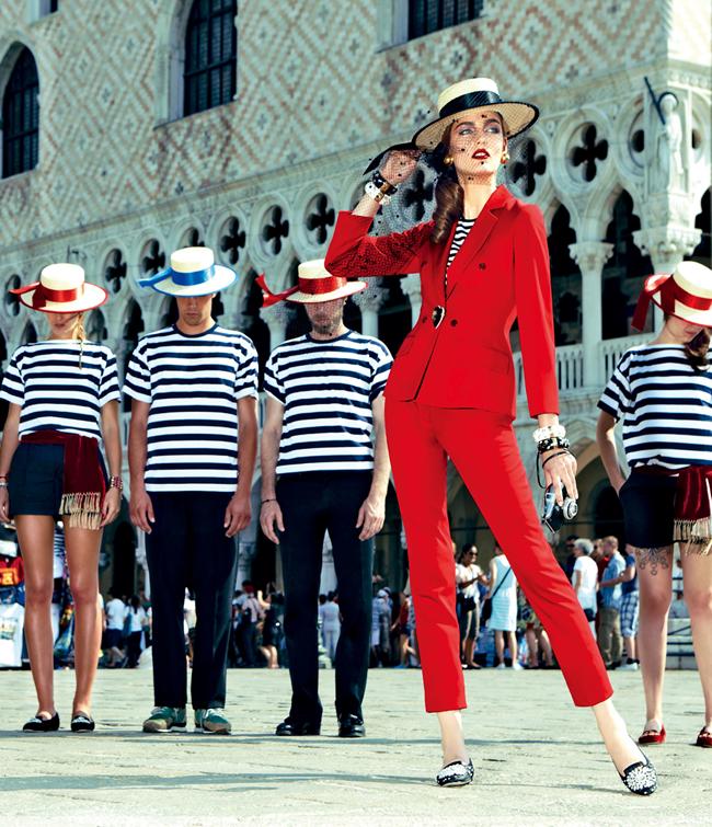Модель Zuzanna Bijoch фотосессия в Венеции