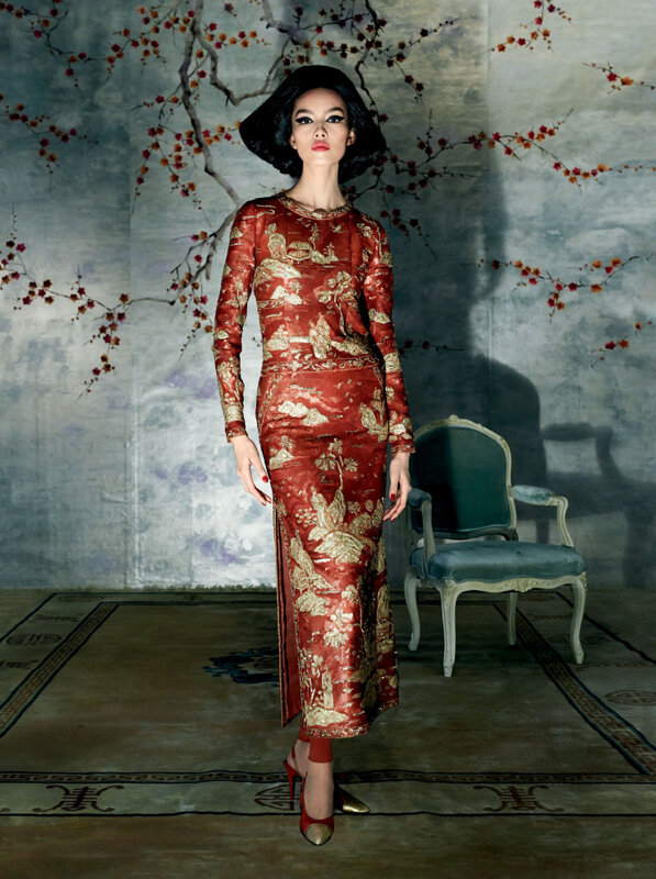 Fei Fei Sun Steven Meisel Vogue US May 2015