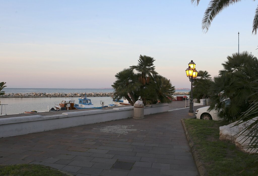 Ischia. Sunset in Lacco Ameno