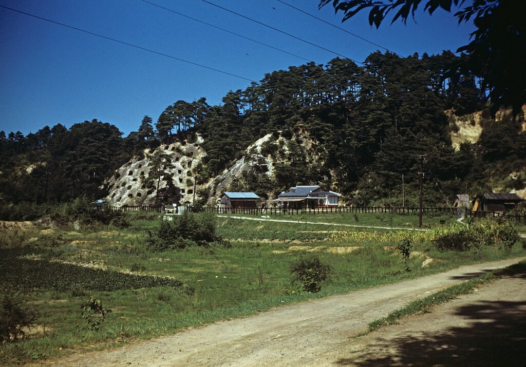 Yoshimi Caves, Sept 1951