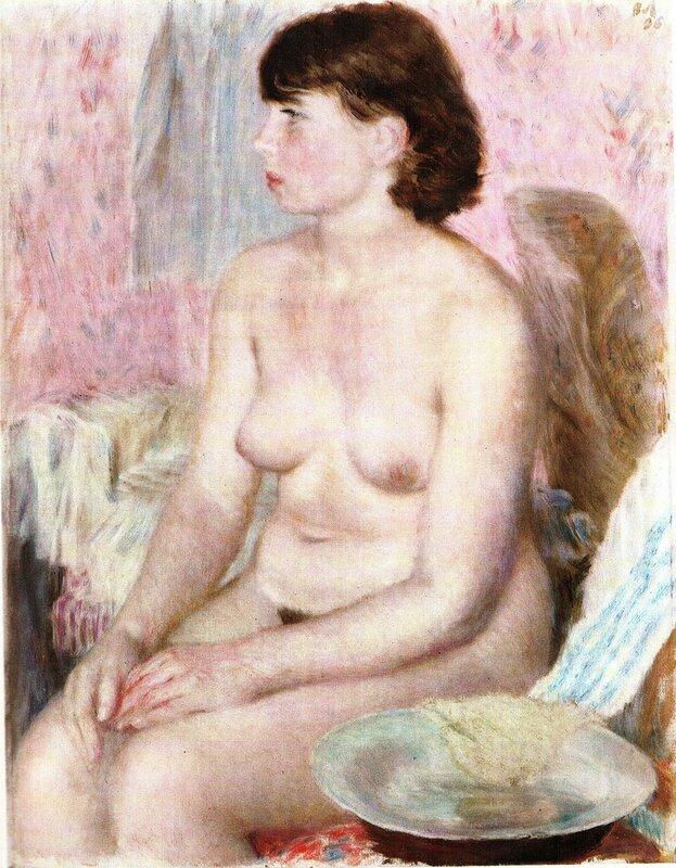 Обнаженная натурщица, 1936 г. | Nude Model, 1936