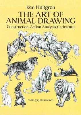 Книга Халтгрен   Искусство рисовать животных