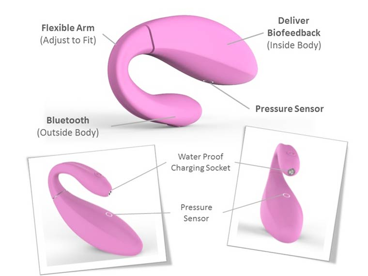 Skea - A connected sextoy to muscle your vagina thanks to video games