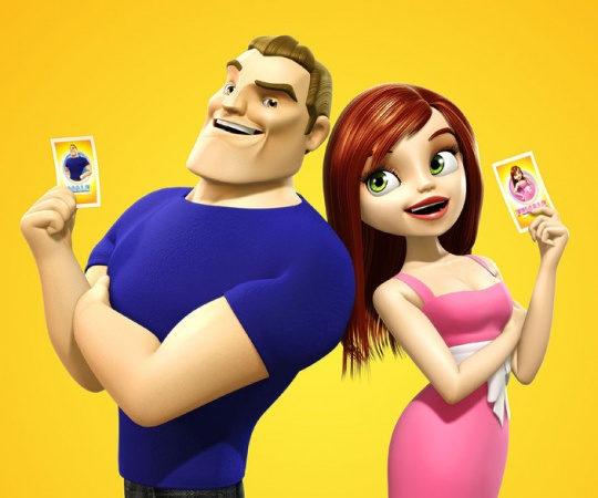 Hot 3d Cartoon Characters by Andrew Hickinbottom