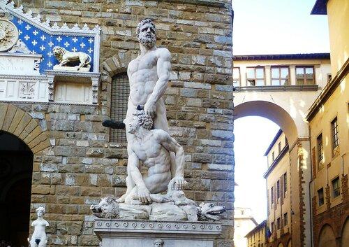 Италия, Флоренция- скульптура (Italy, Florence. Sculpture )