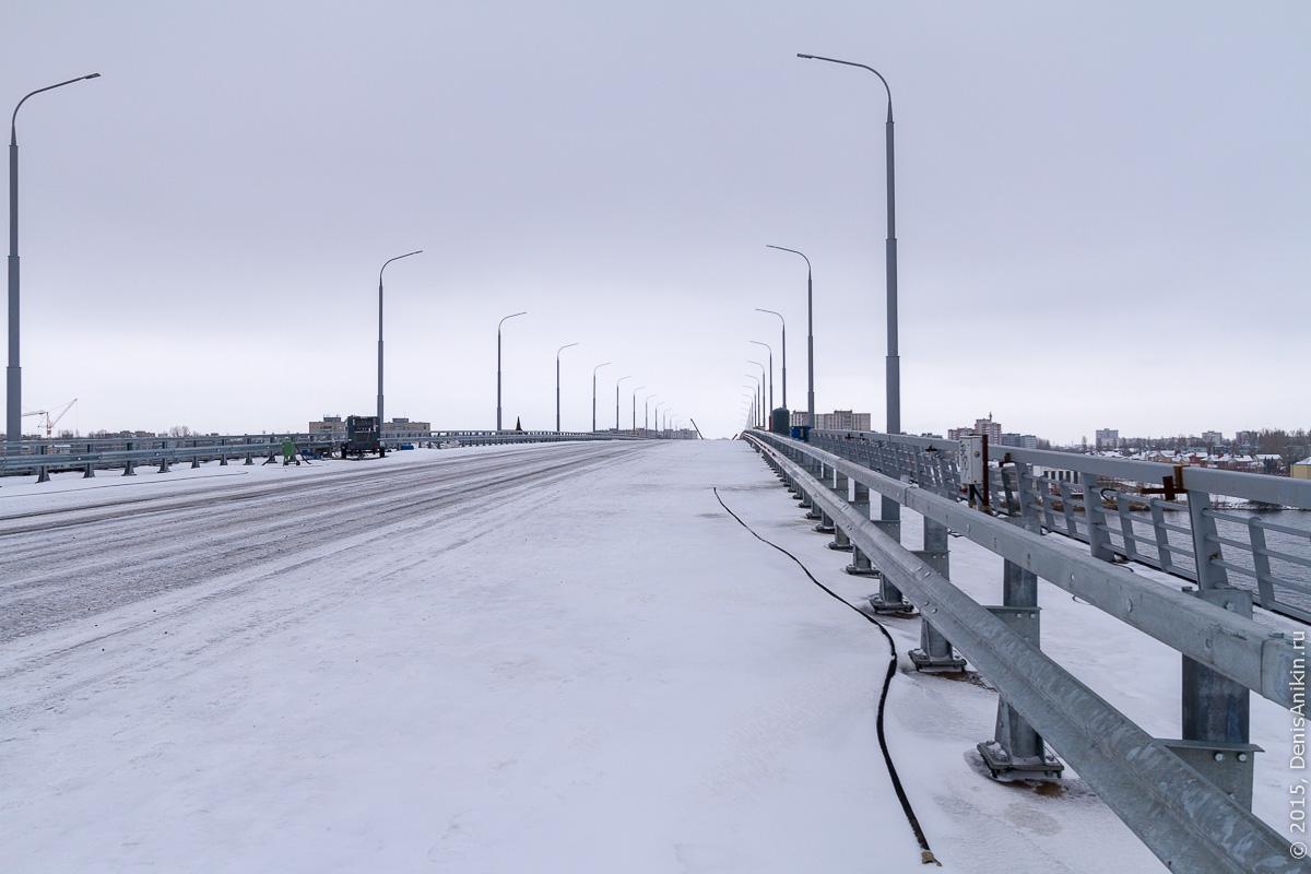 Мостовой переход через судоходный канал в Балаково 7