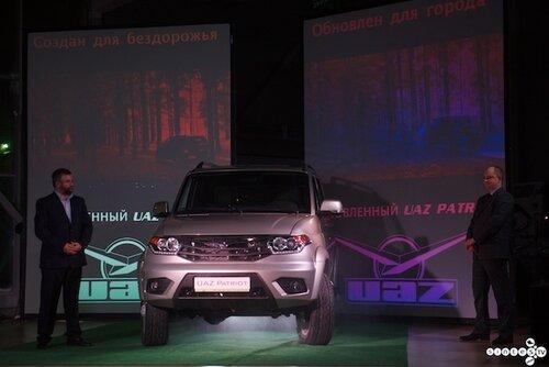 УАЗ Патриот 2015 модельного года