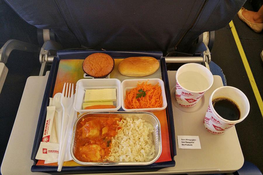 Бортовое питание Georgian Airways