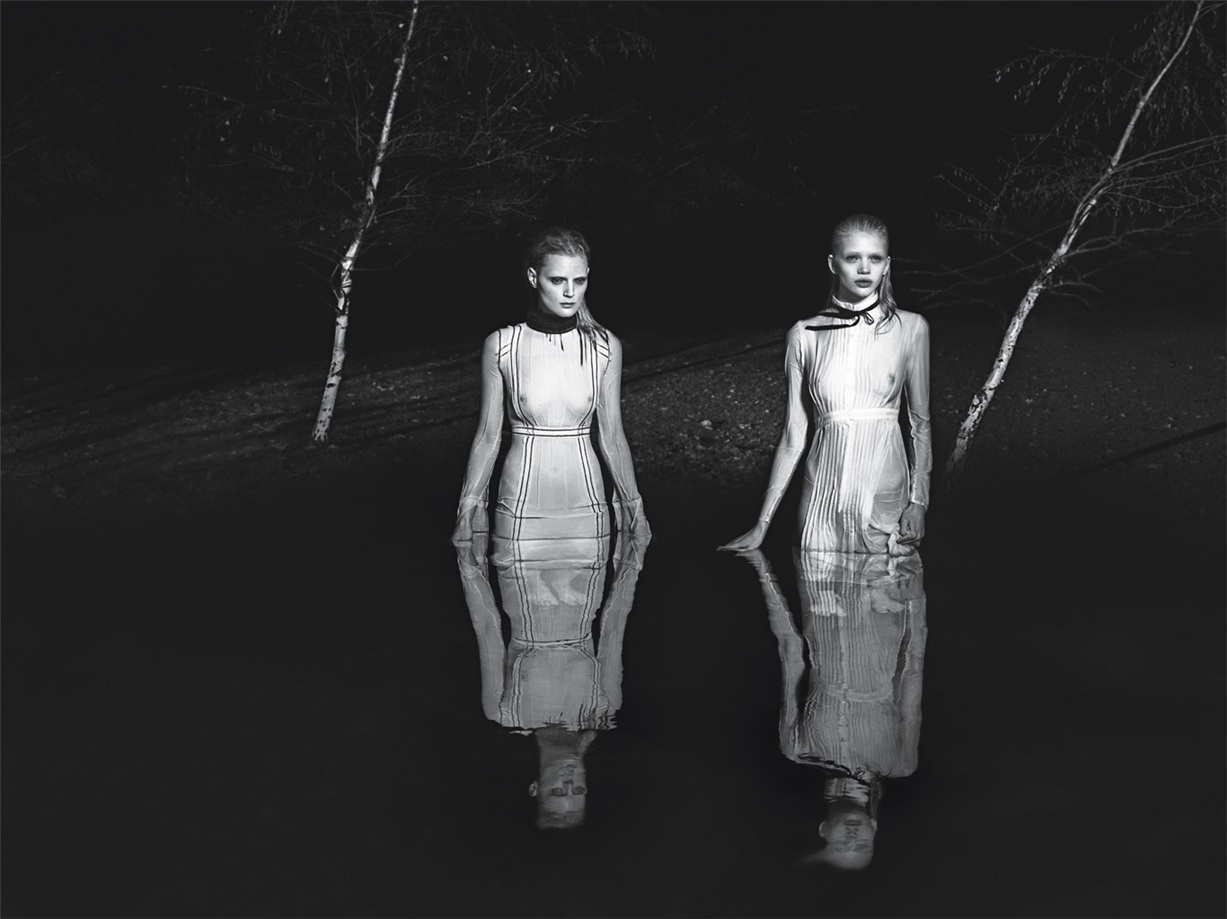 Be Witched by Mert & Marcus in W Magazine March 2015 /  Anna Ewers, Anja Rubick, Lara Stone, Guinevere van Seenus, Jamie Bochert, Molly Bair, Stella Lucia, Frederick Godward