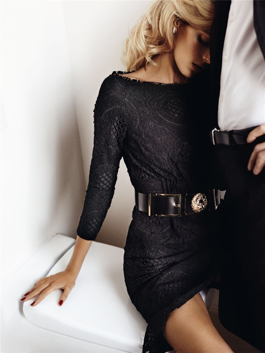 Николай Даниэльсон и Аня Рубик / Anja Rubik & Nikolai Danielsen by Mario Testino in Vogue Paris april 2015