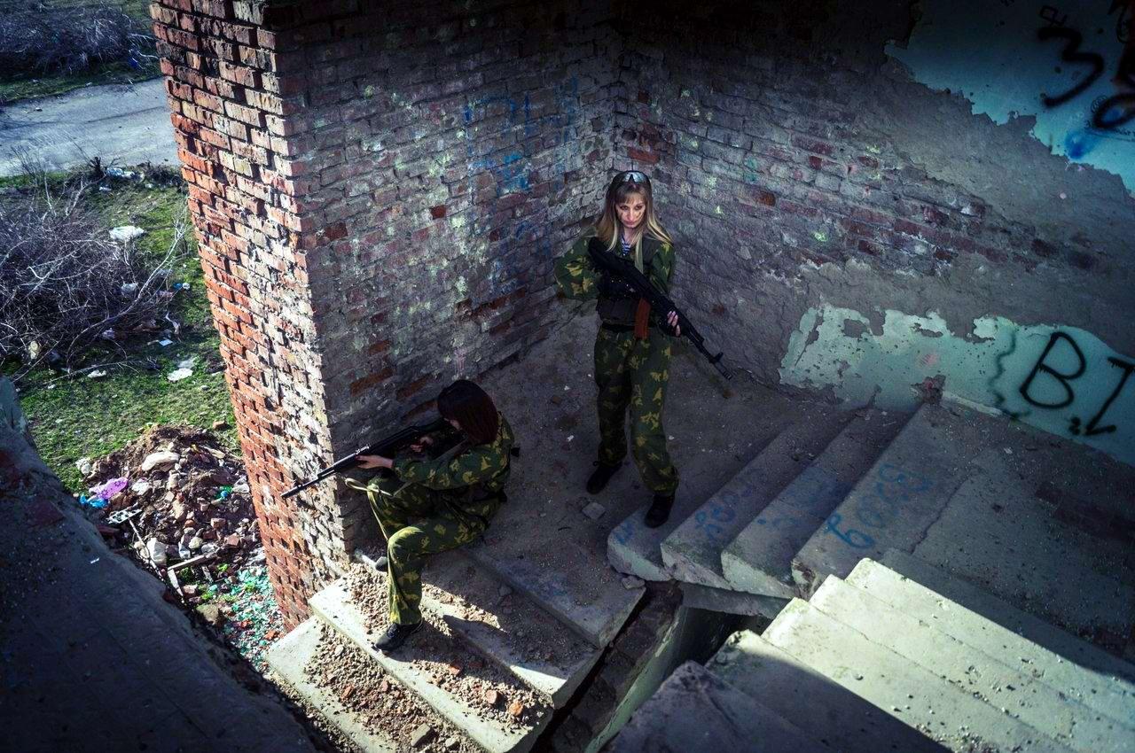 Боевые подруги: Фотосессия в стиле Military - лазертаг клуб - Отряд 61 - (Ростов-на-Дону) (7)