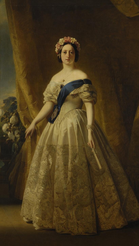 Винтерхальтер (1805-73)Королева Виктория (1819-1901)  1844-45