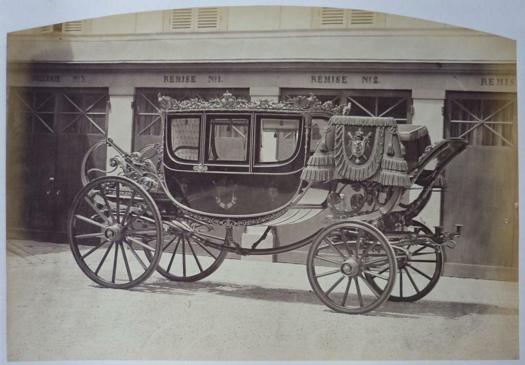 04. Карета императора Наполеон III и и его супруги императрицы Евгении