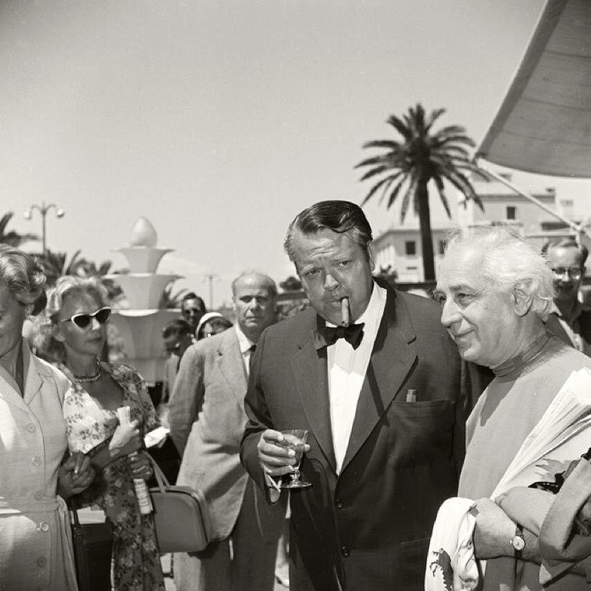 1955. Орсон Уэллс и Абель Ганс