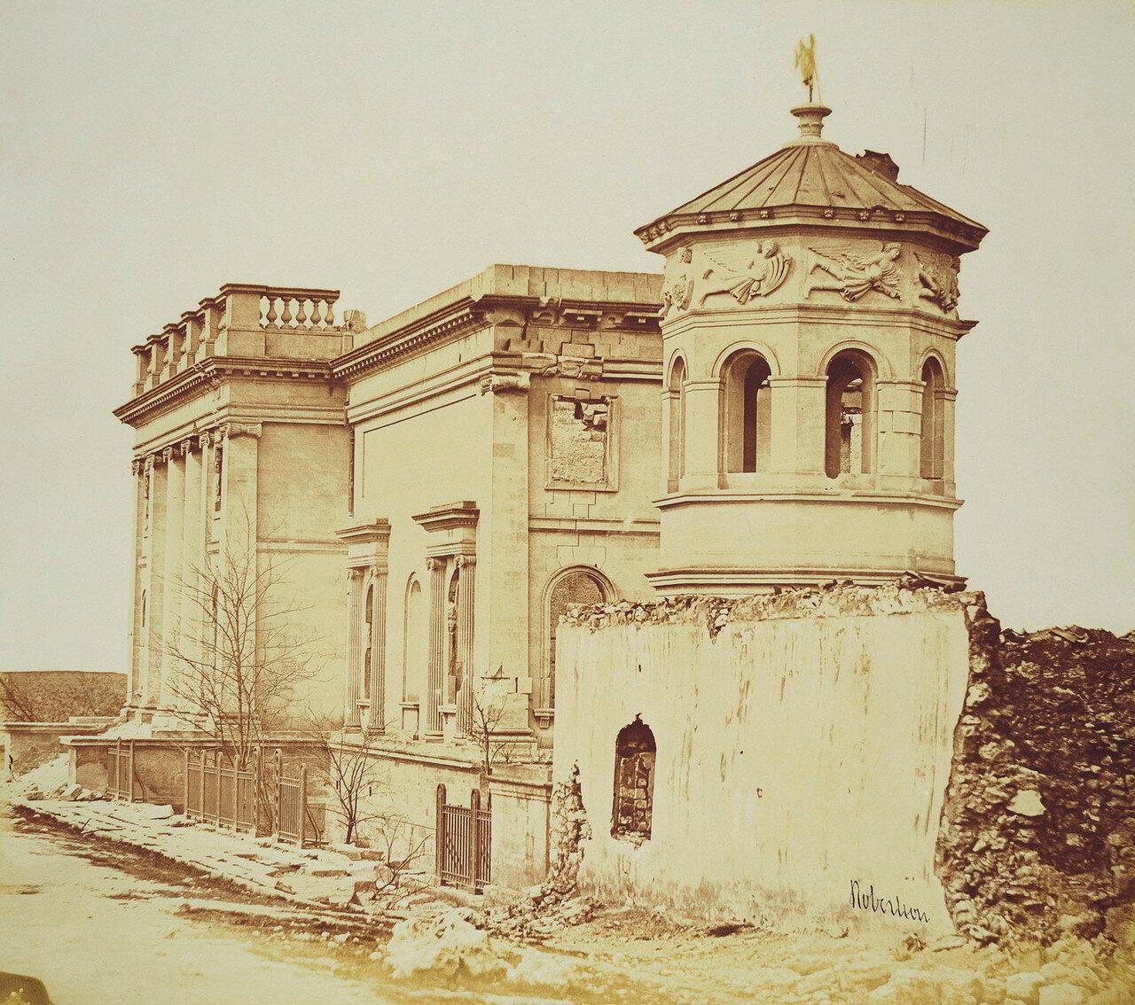 Севастополь. Морская библиотека и Башня ветров
