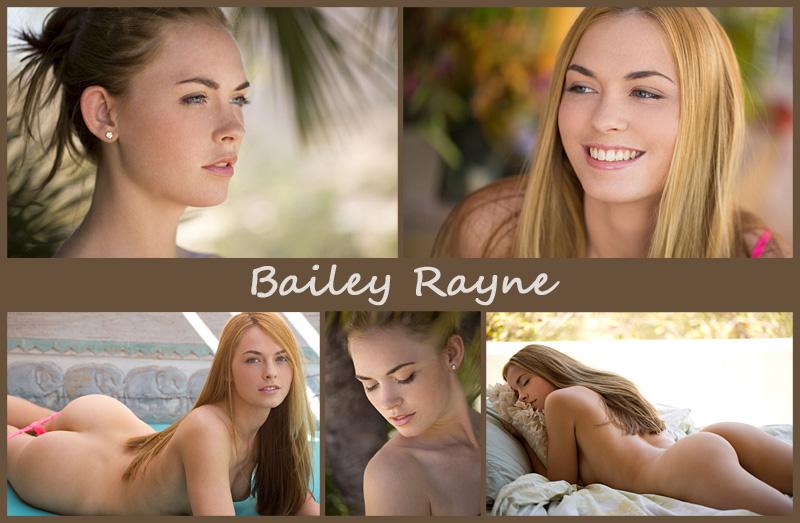 Американская модель Bailey Rayne