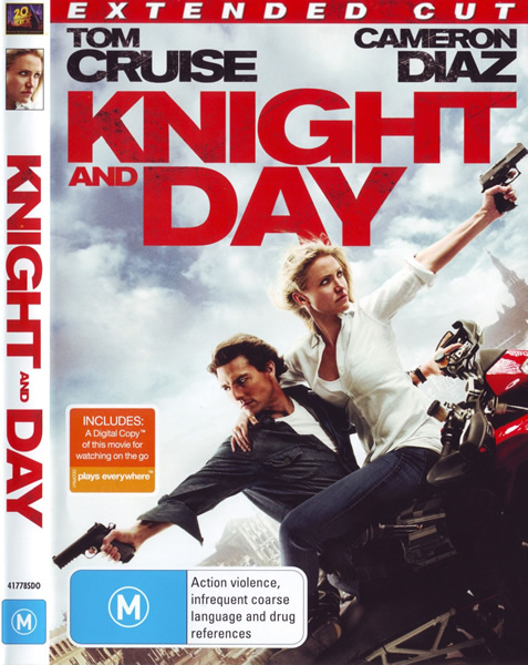Рыцарь дня / Knight and Day (2010/BDRip/HDRip) [Extended cut]