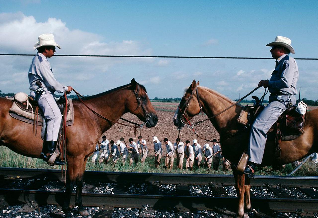 Заключённые. 1982. USA. Texas. Sugarland. Ева Арнольд (1912-2012).