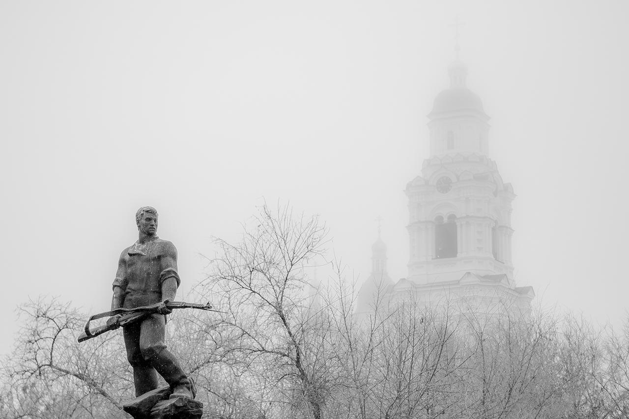 Солдат в тумане