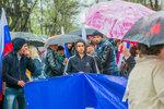 Дождь празднику не помеха: В Астрахани отметили Первомай