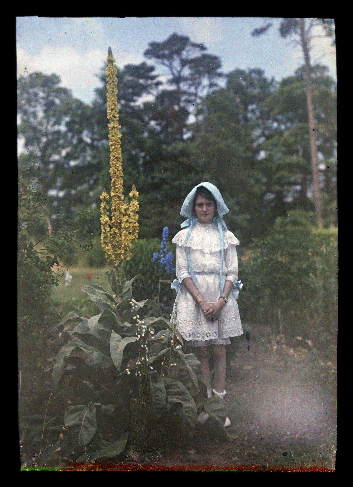 Etheldreda Janet Laing, autuchrome