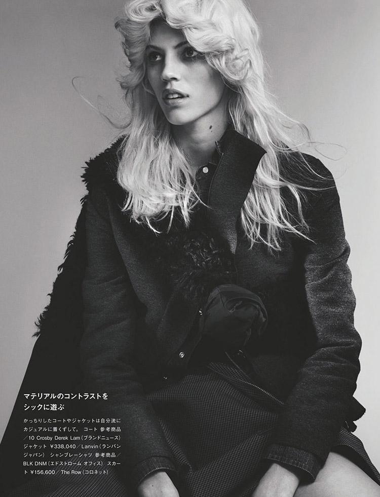 Девон Виндзор в июньском Numero Tokyo 2014