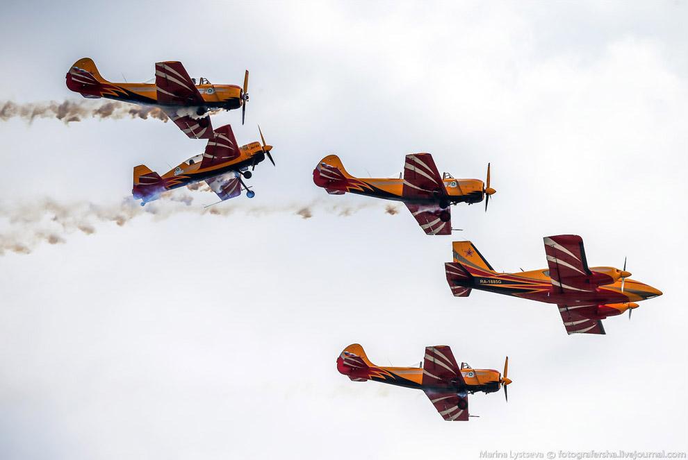 37. Авиасалон Макс 2015: вид с высоты.