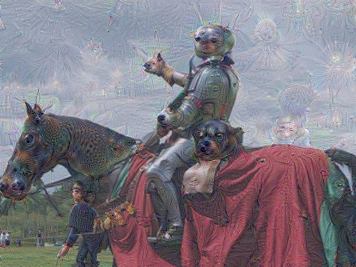 Если считать картины искусственного интеллекта отчасти примером модернистского искусства, то, ве
