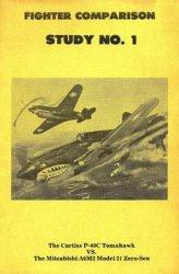 Книга Fighter Combat Study, No.1 - The Curtiss P-40C Tomahawk vs. the Mitsubishi A6M2 Model 21 Zero-Sen