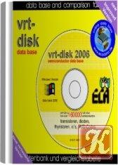 Книга VRT-DISK-2006 - База данных радиодеталей и компонентов